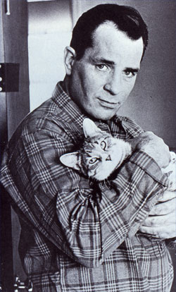 Kerouac and cat